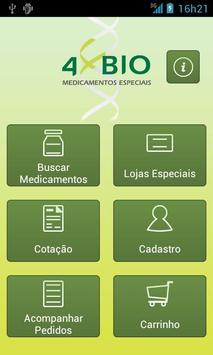 4Bio Medicamentos Especiais poster