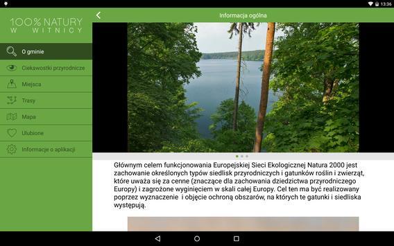 100% Natury w Witnicy apk screenshot