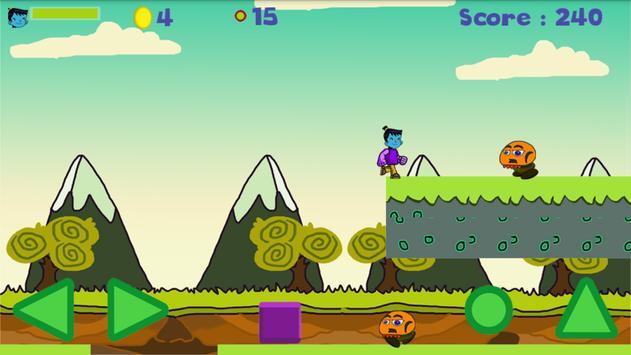 The Funny Blue Kid apk screenshot