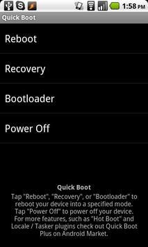 Boot cepat ( Reboot ) screenshot 3