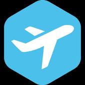 항공편 실시간 출발 도착 정보(비행기 스케줄, 공항) icon