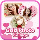 photo grid - collage Frame icon