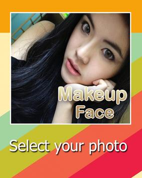 Admire yourself Makeup Face poster