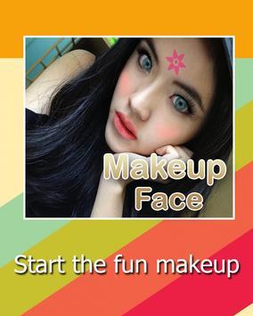 Admire yourself Makeup Face apk screenshot