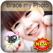 Brace my Photo teeth braces icon