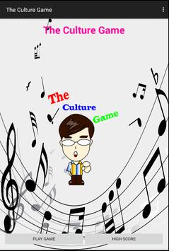 The Culture Game poster