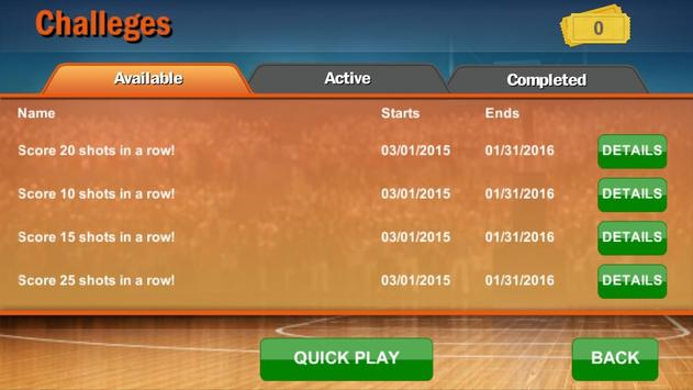 Finger Basketball by Zelosport apk screenshot