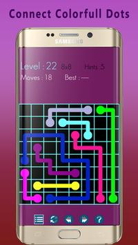 Link Color Dots - Logical Move Matching Arts screenshot 10