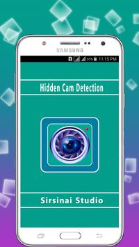 Hidden Cam Detection:  Spy Secret Detect poster