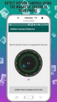 Hidden Cam Detection:  Spy Secret Detect screenshot 1