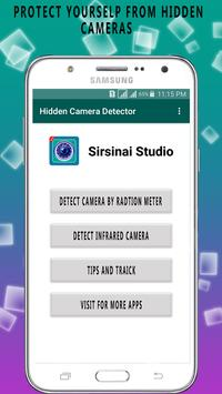 Hidden Cam Detection:  Spy Secret Detect screenshot 3