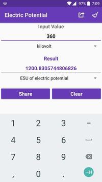 Electrical Converter screenshot 2