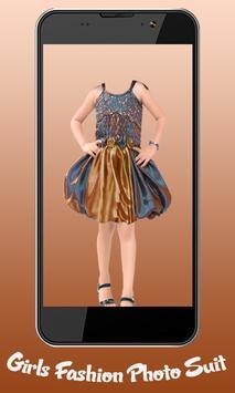 Girls Fashion Photo Suit screenshot 1
