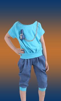 Girls Fashion Photo Suit screenshot 3