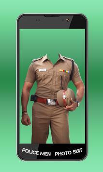 Police Men Photo Suit screenshot 1
