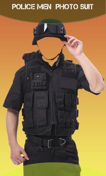 Police Men Photo Suit screenshot 2
