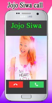 jojo siwa real call video poster