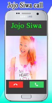 jojo siwa real call video apk screenshot