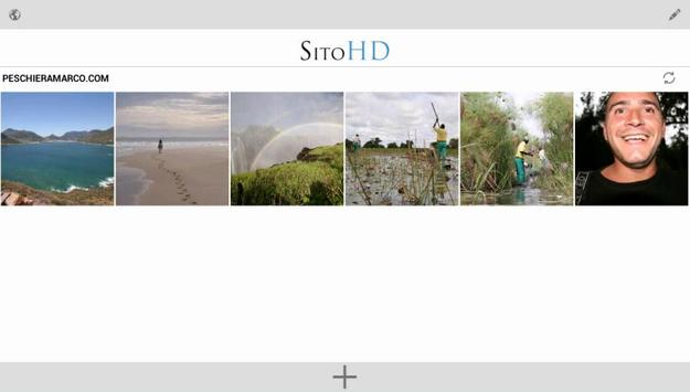 SitoHD - Your Photo website apk screenshot