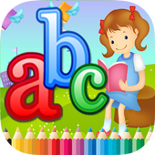 ABC Coloring Book For Kids (L) icon