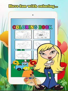 ABC Coloring Book For Kids (L) screenshot 5