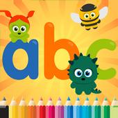 ABC Spanish Coloring Book (L) icon