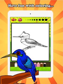Bird Coloring Book For Kids screenshot 6