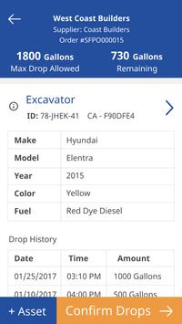 Site Fuel Mobile Driver apk screenshot