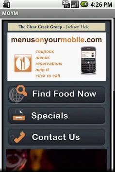 MenusOnYourMobile poster