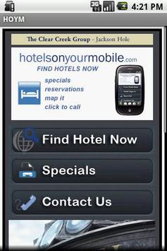 Hotels On Your Mobile poster