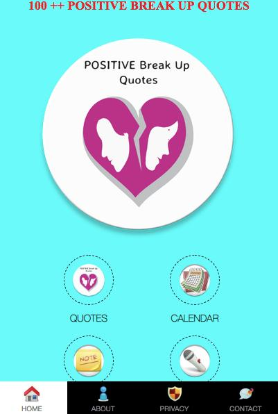 Positive Break Up Quotes 2018 For Android Apk Download