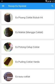 Resep Es Nyoklat screenshot 1