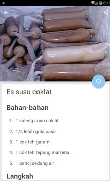 Resep Es Nyoklat screenshot 2