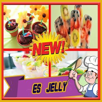 Resep Es Jelly Unik poster