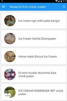 Resep Es Untuk Jualan screenshot 1