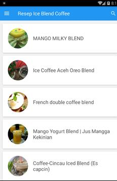Resep Ice Blend Coffee screenshot 1