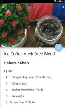 Resep Ice Blend Coffee screenshot 2