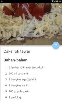 Resep Roti Cake screenshot 3