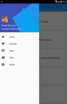 Resep Roti Cake screenshot 2