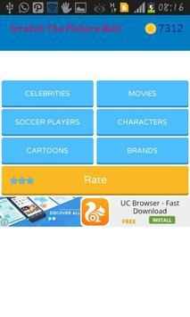 Scratch The Picture Quiz apk screenshot
