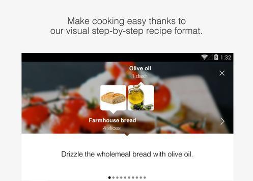 Youmiam : recettes visuelles скриншот приложения