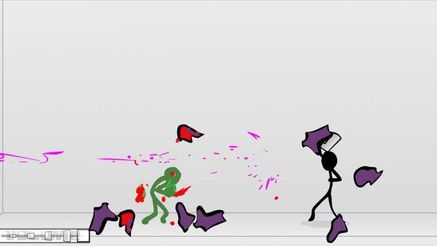 Stickman Fighting Blow poster