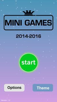 Mini Games : white tiles poster