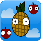 Pineapple vs Apple icon