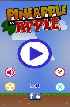Pineapple vs Apple poster
