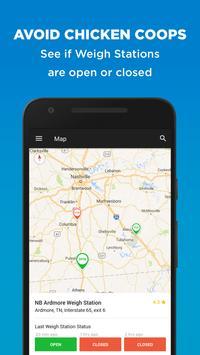 Trucker Path – Truck Stops & Weigh Stations apk تصوير الشاشة