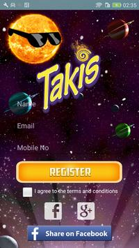Takis apk screenshot