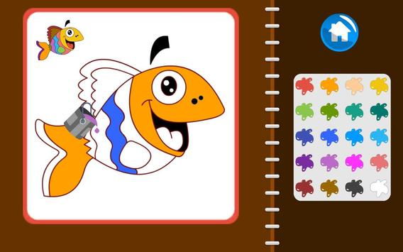 KidsPage - Coloring Book For Beginners screenshot 8