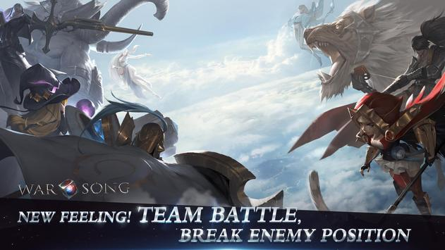 War Song- A 5vs5 MOBA Anywhere Anytime poster