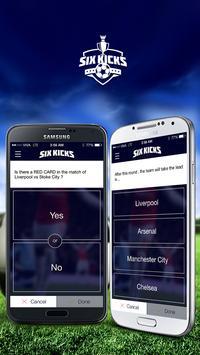 SixKicks apk screenshot